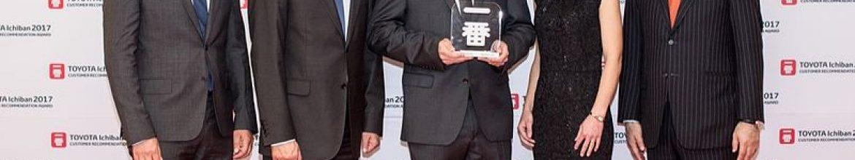 29.05.2017 – AUSZEICHNUNG ICHIBAN: AUTOHAUS METZGER IST BESTER TOYOTA-HÄNDLER