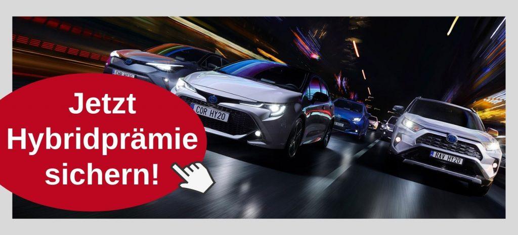 Toyota Hybridpraemie beim Autohaus Metzger in Widdern
