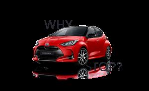 Der neue Toyota Yaris im Autohaus Metzger
