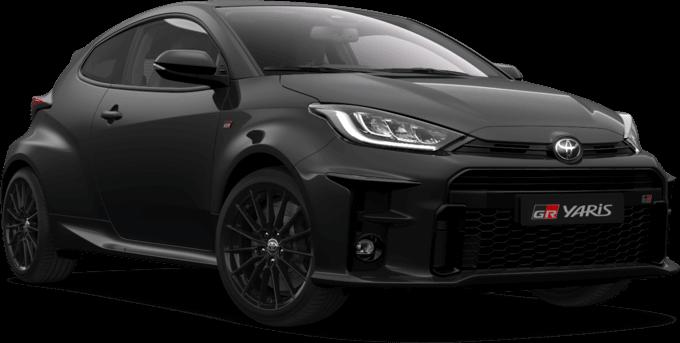 Toyota GR Yaris in schwarz beim Autohaus Metzger in Widdern bei Heilbronn
