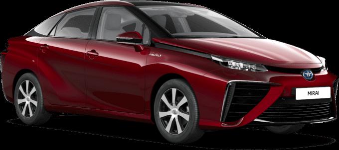 Wasserstoff Auto Toyota Mirai beim Autohaus Metzger