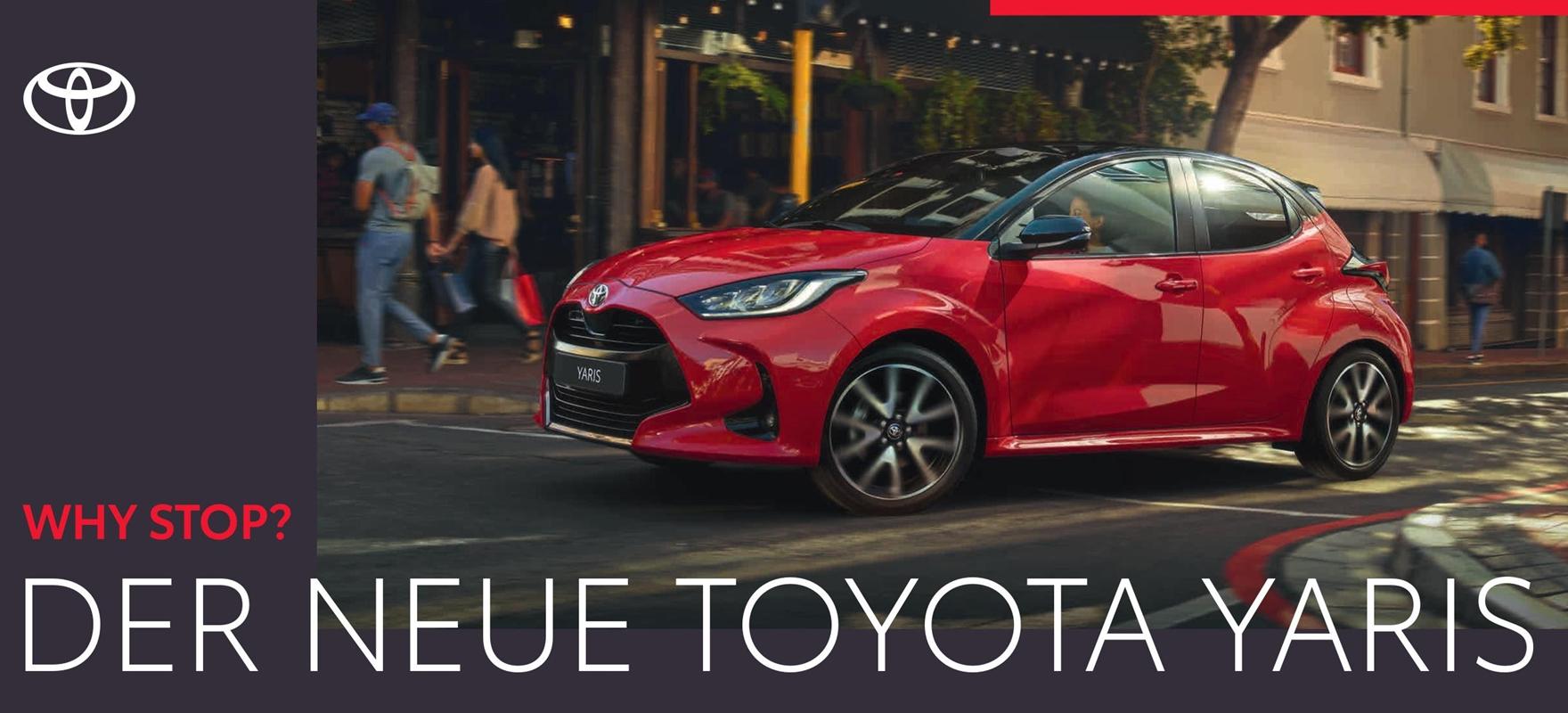 Der neue Toyota Yaris Hybrid 2020 im Autohaus Metzger in Widdern