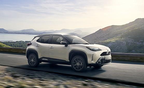 Der neue Toyota Yaris Cross Adventure im Autohaus Metzger in Widdern bei Heilbronn
