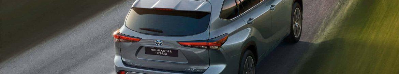 Der neue Toyota Highlander Hybrid 2021 beim Autohaus Metzger