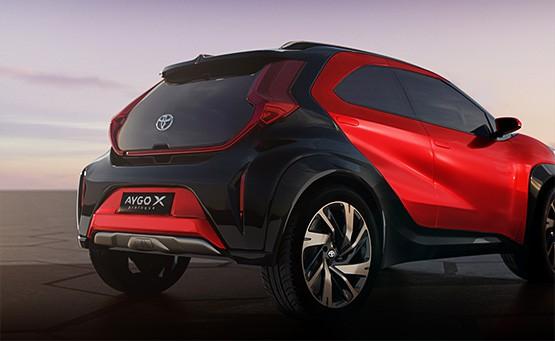 Toyota AYGO X prologue im Autohaus Metzger