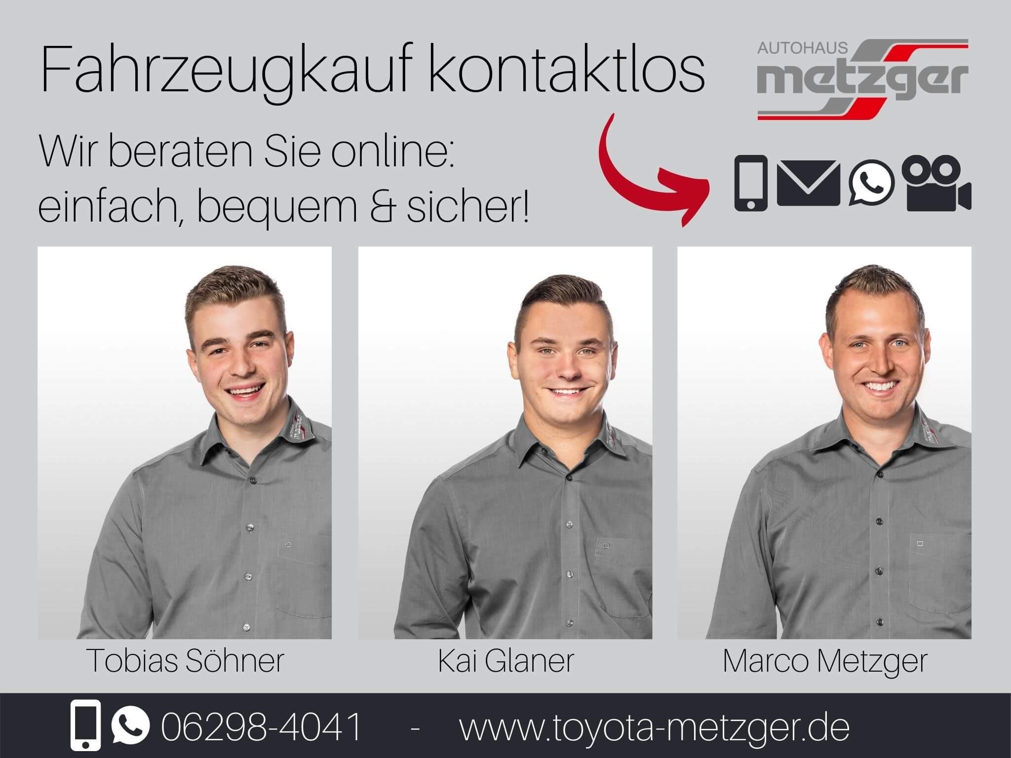 Online Verkauf im Toyota Autohaus Metzger in Widdern bei Heilbronn
