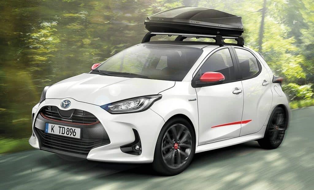 Toyota Dachbox im Autohaus Metzger leihen oder kaufen