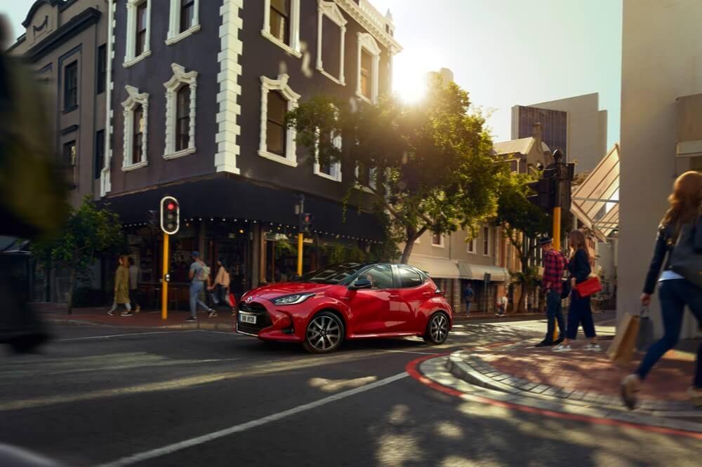 Der neue Toyota Yaris im Autohaus Metzger!