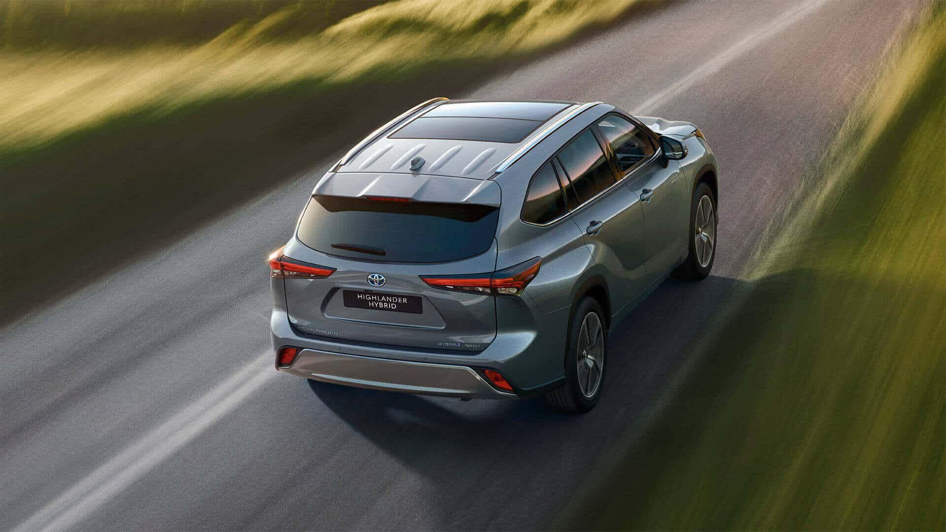 Der neue Toyota Highlander Hybrid beim Autohaus Metzger